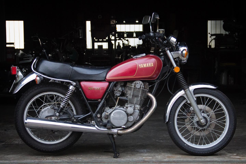 FOR SALE!! 1978 YAMAHA SR500 最初期型 フルオリジナル_e0182444_2045990.jpg