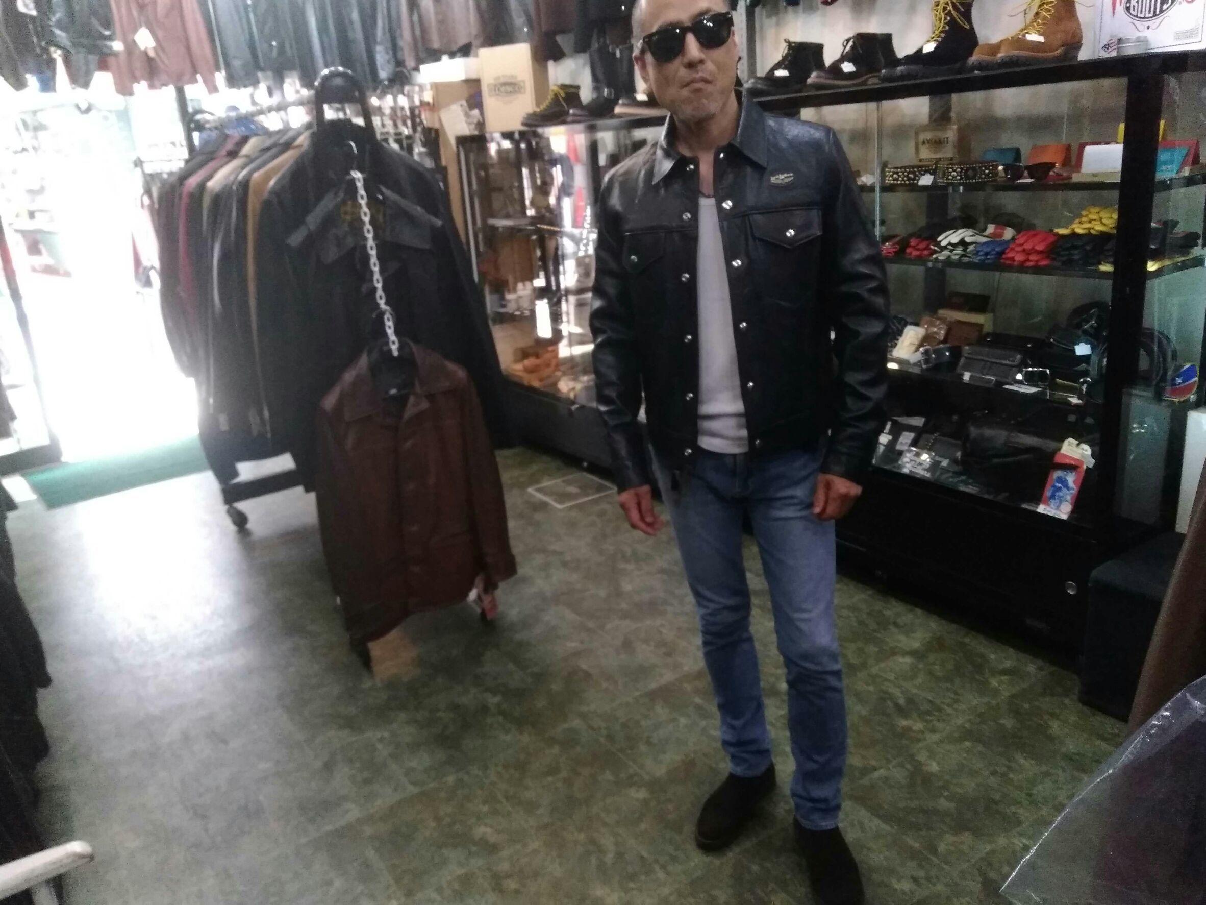 Lewis Leathers 988 Western Jacket オーダー品のお渡し!_f0349544_11000732.jpg