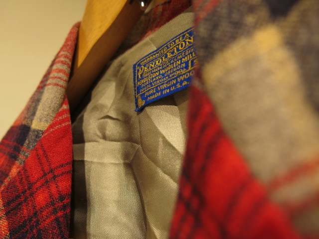 """PENDELTON WOOL JACKET MADE IN USA\""ってこんなこと。_c0140560_12173052.jpg"