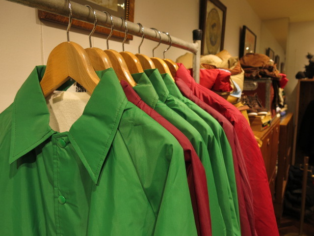 """DEADSTOCK COACH JACKET MADE IN USA\""ってこんなこと。_c0140560_12480838.jpg"
