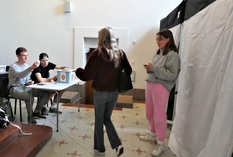 民主主義を学ぶスクールエレクション終わる(ノルウェー)_c0166264_04380346.jpg