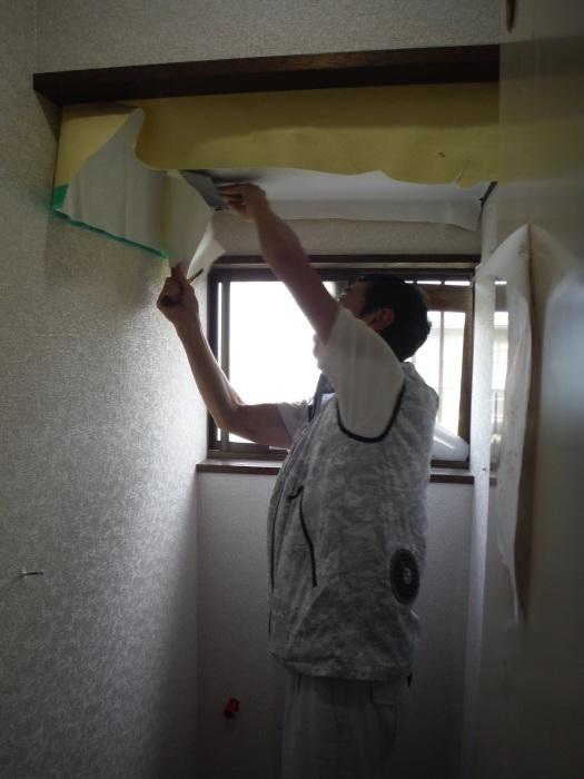 トイレ内装 リフォーム ~ 内装工事で終了です。_d0165368_04471463.jpg