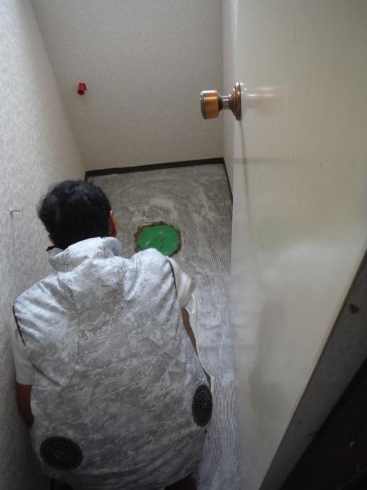 トイレ内装 リフォーム ~ 内装工事で終了です。_d0165368_04472671.jpg