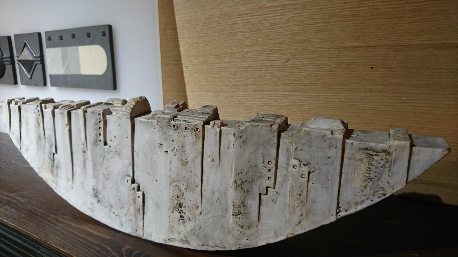 蔵織は今日から奥村進さんの作陶展。_e0046190_17170401.jpg