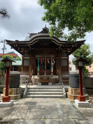 うちかわ指圧の、氏神様神社⛩ 諏訪神社_a0112393_22144630.jpg