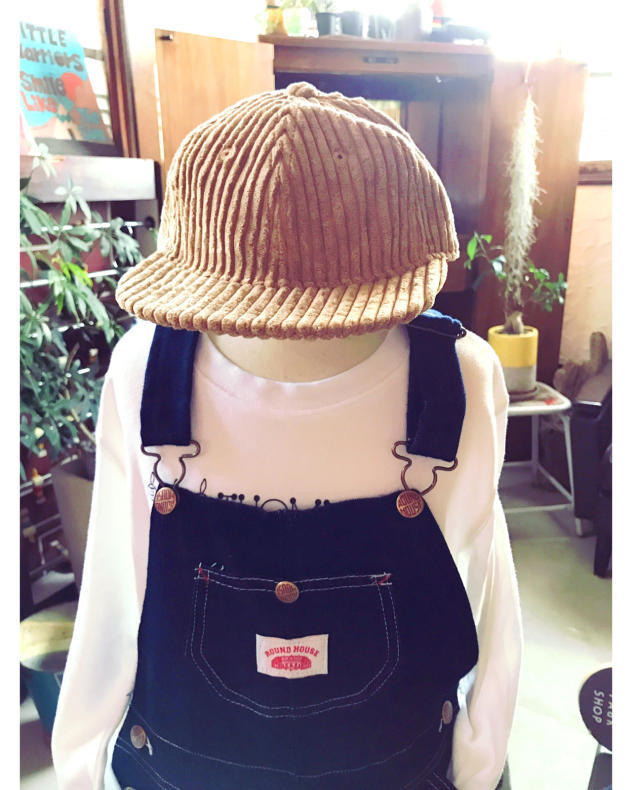 【THE PARK SHOP】CORD  BOY CAP KIDS_d0000298_15255359.jpg