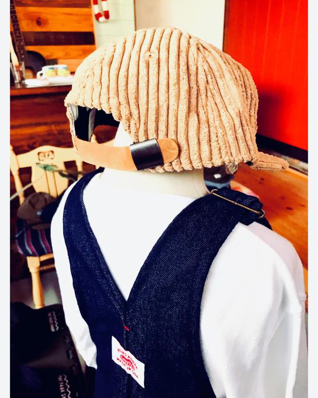 【THE PARK SHOP】CORD  BOY CAP KIDS_d0000298_15255535.jpg