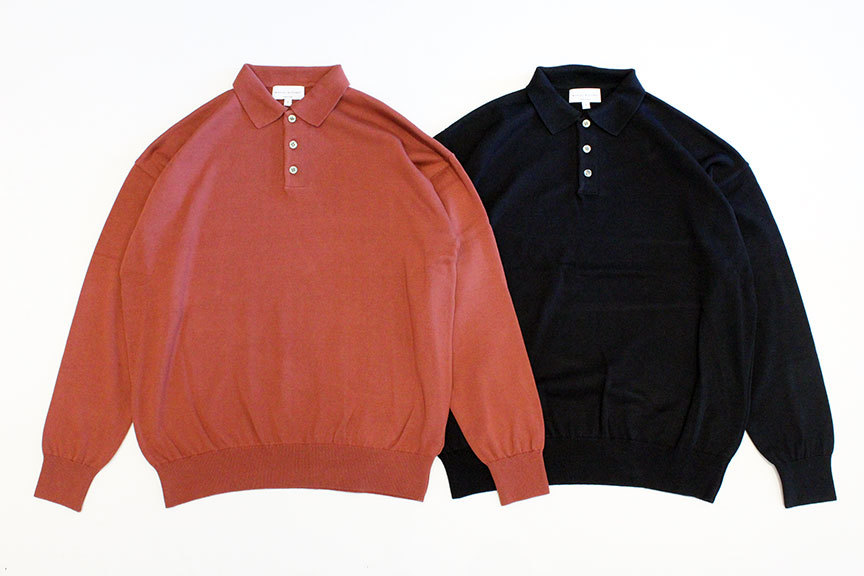 MANUAL ALPHABET (マニュアル アルファベット) ALL TIME KNIT COLLAR_b0122806_12335104.jpg