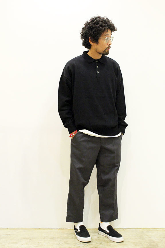 MANUAL ALPHABET (マニュアル アルファベット) ALL TIME KNIT COLLAR_b0122806_12340740.jpg
