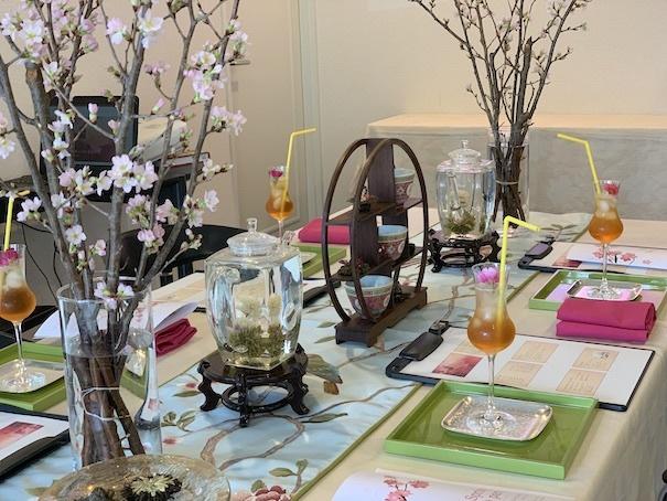 花咲く工芸茶のティーパーティー_f0206212_12520376.jpg