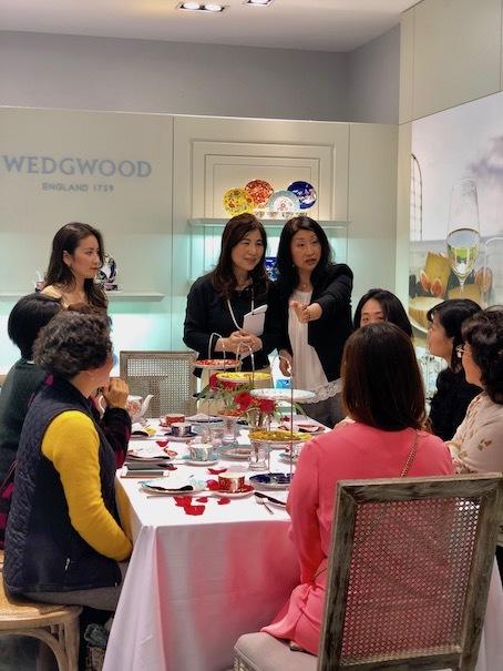 上海高島屋WEDGEWOODでティーセミナー_f0206212_15495717.jpg