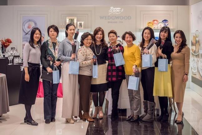 上海高島屋WEDGEWOODでティーセミナー_f0206212_15530169.jpg