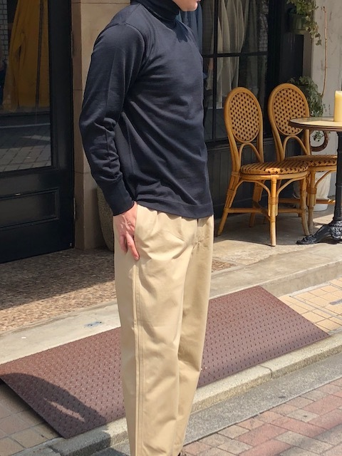 Phlannel Woolturtleneck & longsleeveTshirt   chinopants_a0222424_07590746.jpg