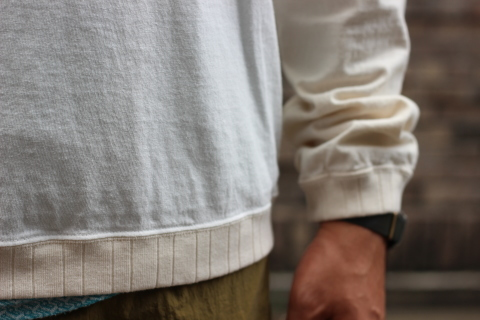 """コスパの良い「Jackman」 \""""Rib L/S T-Shirt\"""" ご紹介_f0191324_07434810.jpg"""