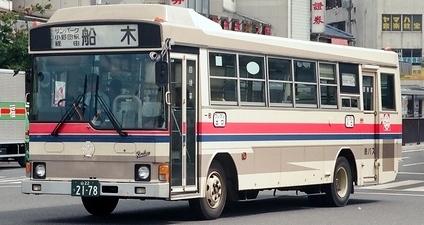 船木鉄道 日野P-RR172BA +日野車体_e0030537_21400693.jpg