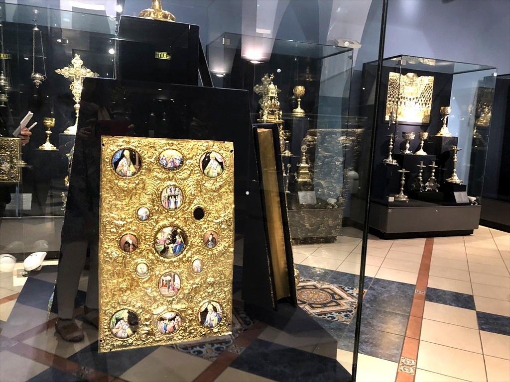 ペチェルーシク大修道院 3 歴史博物館@キエフ_a0092659_22582598.jpg