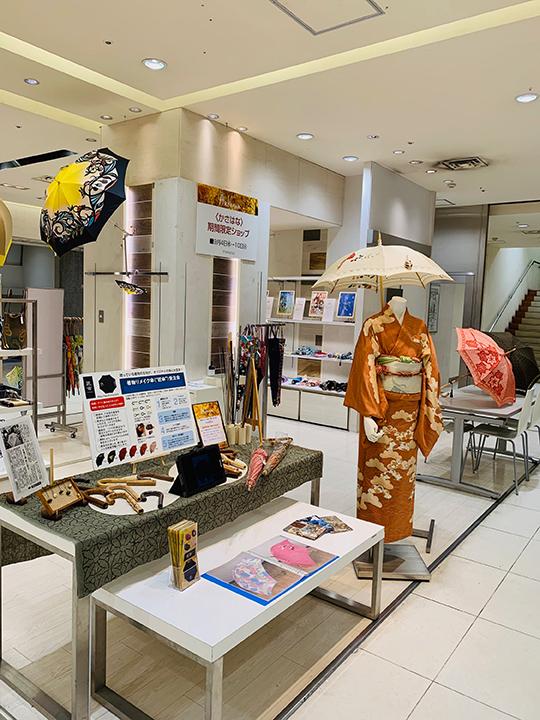 『三日月森の猫・スカーフ&傘』9/4-9/10名古屋名鉄百貨店一階シーズン雑貨売り場 催事始まっています_f0023482_09452684.jpg