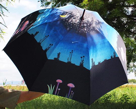『三日月森の猫・スカーフ&傘』9/4-9/10名古屋名鉄百貨店一階シーズン雑貨売り場 催事始まっています_f0023482_09474446.jpg