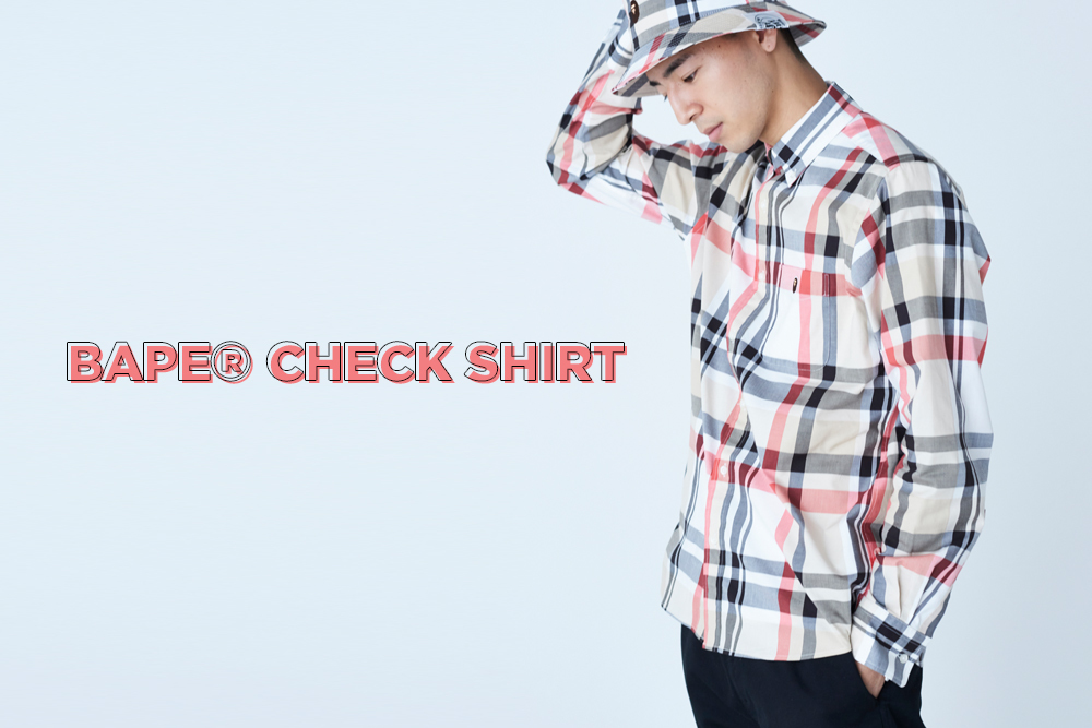 BAPE CHECK SHIRT_a0174495_16572752.jpg