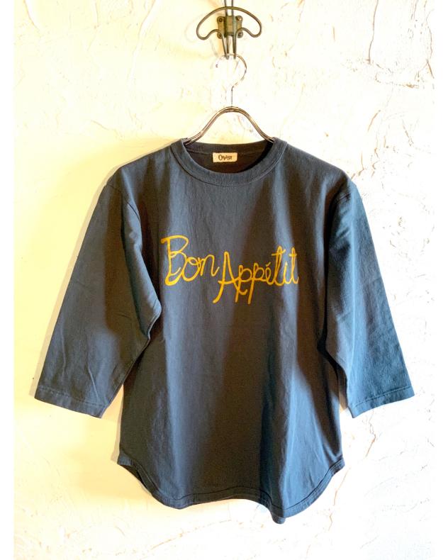 【OAFISH】4/3 SLV. BASEBALL TEE _d0000298_15532943.jpg