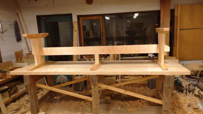 3m×90cm テーブル 製作その3_a0061599_04044146.jpg
