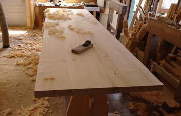 3m×90cm テーブル 製作その4 完成_a0061599_22211916.jpg