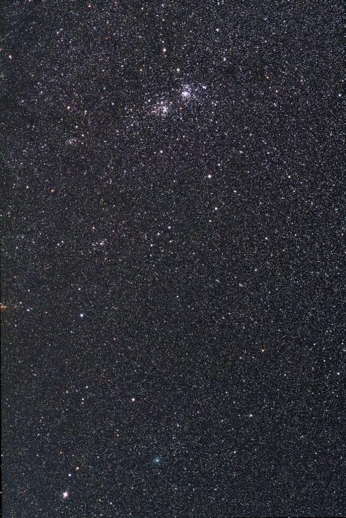 二重星団に接近するアフリカーノ彗星(C/2018 W2)_e0344621_08215576.jpg