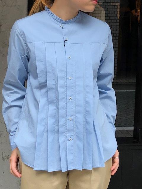 GRANDMA MAMA DAUGHTER  2way check GatherShirt&tuck frill shirt_a0222424_19595799.jpg