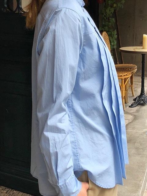 GRANDMA MAMA DAUGHTER  2way check GatherShirt&tuck frill shirt_a0222424_20001627.jpg