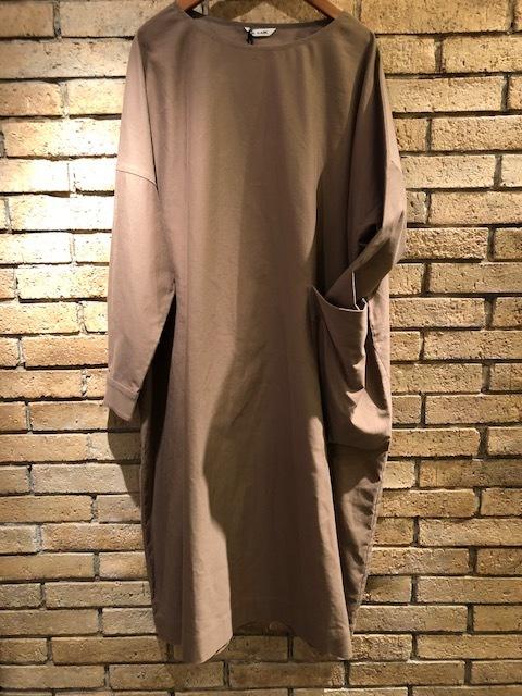 Le Glazik  loosefit Twill dress & Phlannel cottonvelvet Farmer BAG_a0222424_21062515.jpg