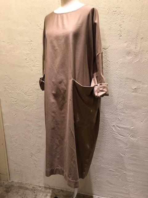Le Glazik  loosefit Twill dress & Phlannel cottonvelvet Farmer BAG_a0222424_21065754.jpg