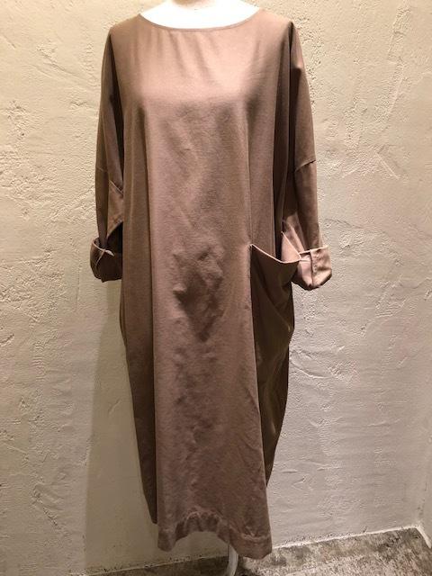 Le Glazik  loosefit Twill dress & Phlannel cottonvelvet Farmer BAG_a0222424_21070325.jpg