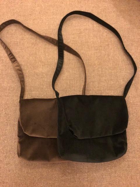 Le Glazik  loosefit Twill dress & Phlannel cottonvelvet Farmer BAG_a0222424_21072220.jpg