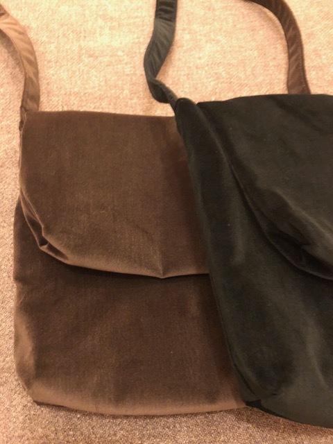 Le Glazik  loosefit Twill dress & Phlannel cottonvelvet Farmer BAG_a0222424_21072704.jpg