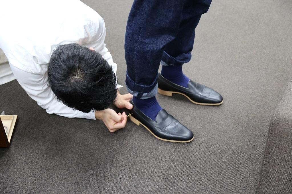 Bespoke Shoemaker Marquess トランクショー開催中!_a0309631_16431878.jpg