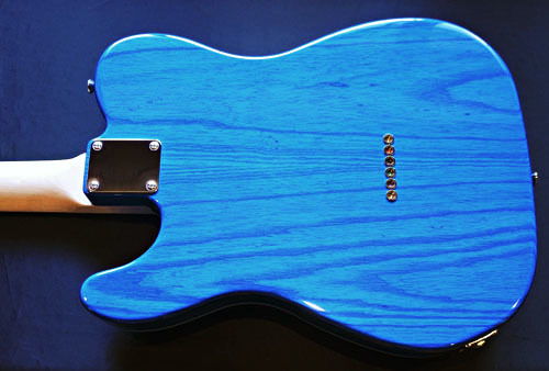 「Zebra Phantom Blue MetallicのSTD-T」の1本目完成!_e0053731_16382169.jpg
