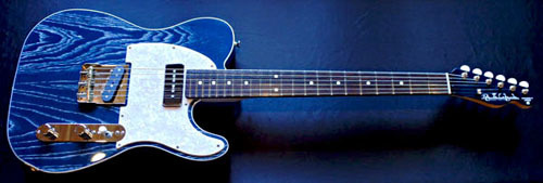 「Zebra Phantom Blue MetallicのSTD-T」の1本目完成!_e0053731_16384853.jpg