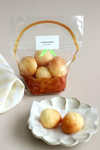 レシピ「もちもちチーズのポンデケージョ」_a0165538_09155302.jpg