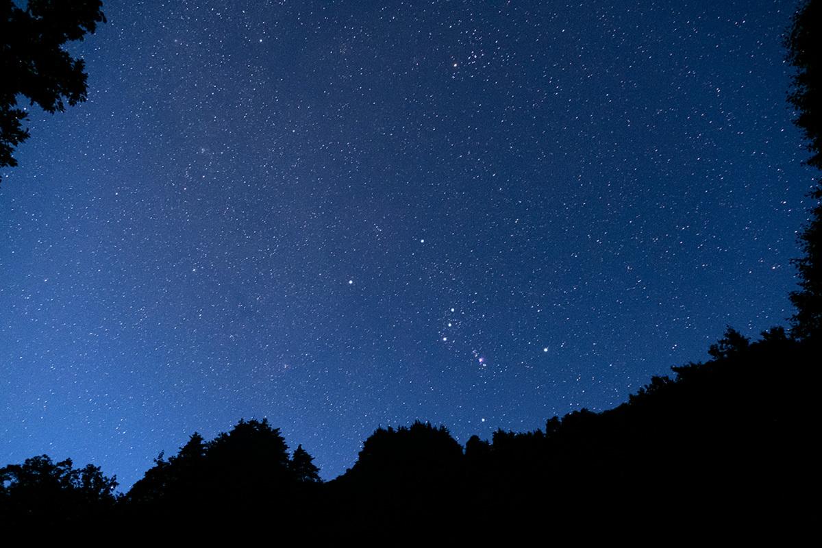 沈みゆく白鳥と還ってきたオリオン Cygnus & Orion #FUJIXT30_c0065410_22505509.jpg