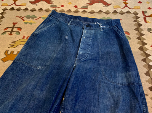 アメリカ仕入れ情報#8 40s U.S NAVY Denim pants!_c0144020_09563491.jpg