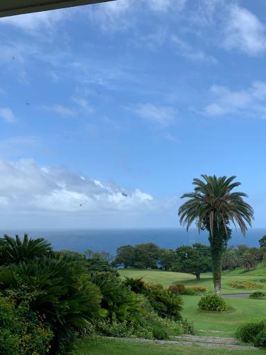 台風の中のゴルフ_c0223630_22025068.jpg