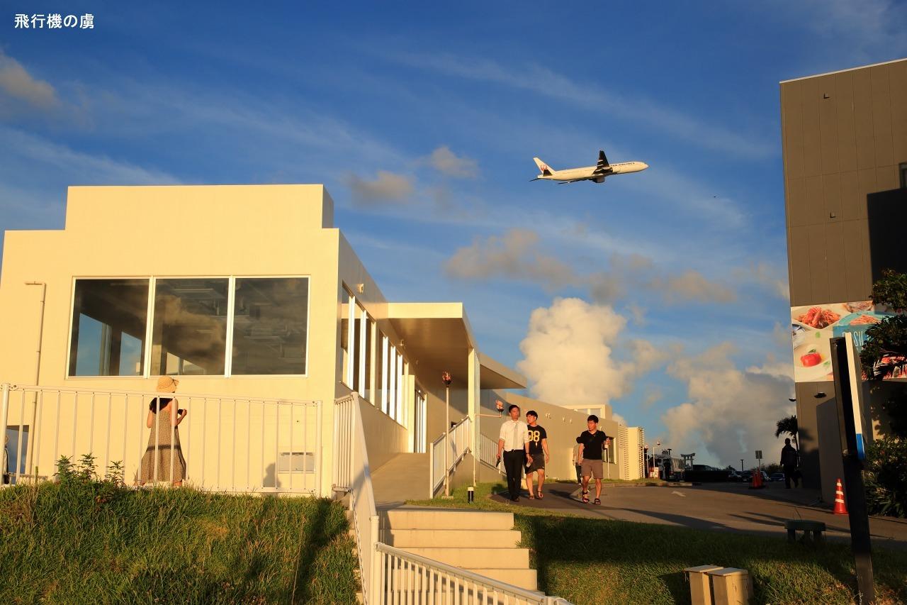 飛行機を見送る少女  B777  日本航空(JL)_b0313338_01395051.jpg