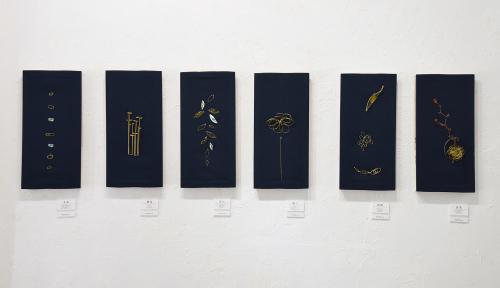「連(ツラネ)」CONNECT & CONTINUE Accessory brand shizuku exhibition @ 4日目_e0272050_13032504.jpg