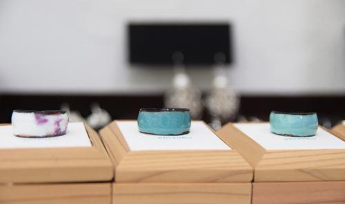 「連(ツラネ)」CONNECT & CONTINUE Accessory brand shizuku exhibition @ 4日目_e0272050_13495963.jpg