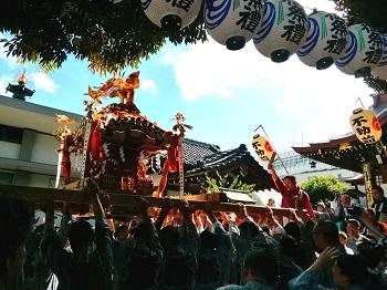 大鳥神社例大祭&目黒さんま祭り_a0061057_21145511.jpg