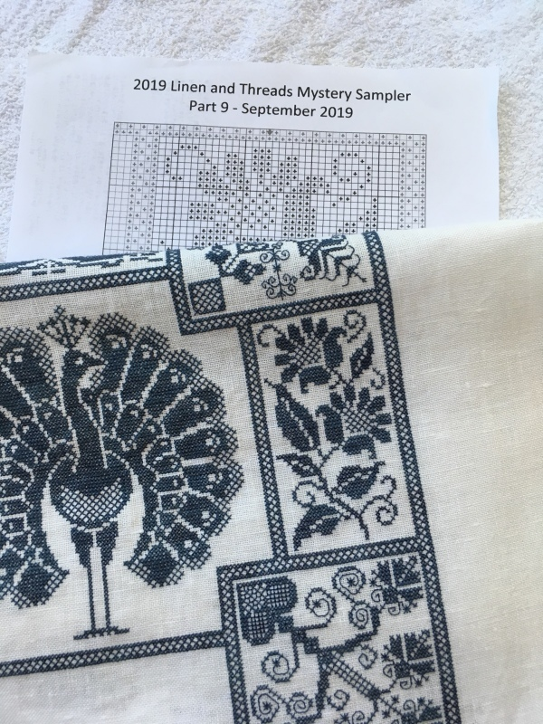 Linen and Threads Mystery Sampler Part-9 完成_a0374562_07281273.jpeg
