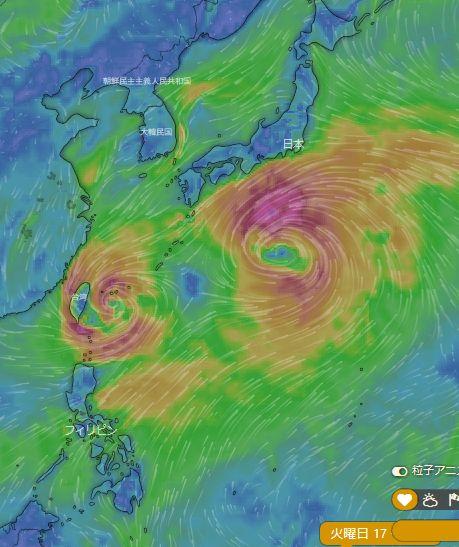 台風シーズン_c0139375_1710207.jpg