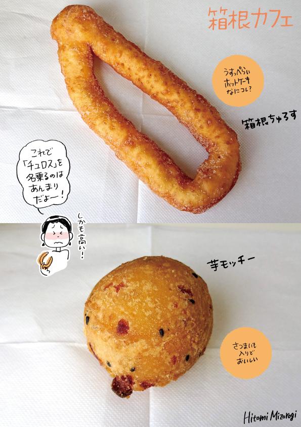 【箱根】箱根カフェのドーナツ2種【こ、これは…(涙)】_d0272182_16212544.jpg