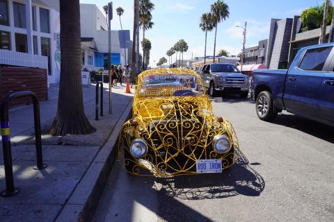 LAの旅③ービーチ対決: ベニス vs サンタモニカ_c0019088_14223431.jpg