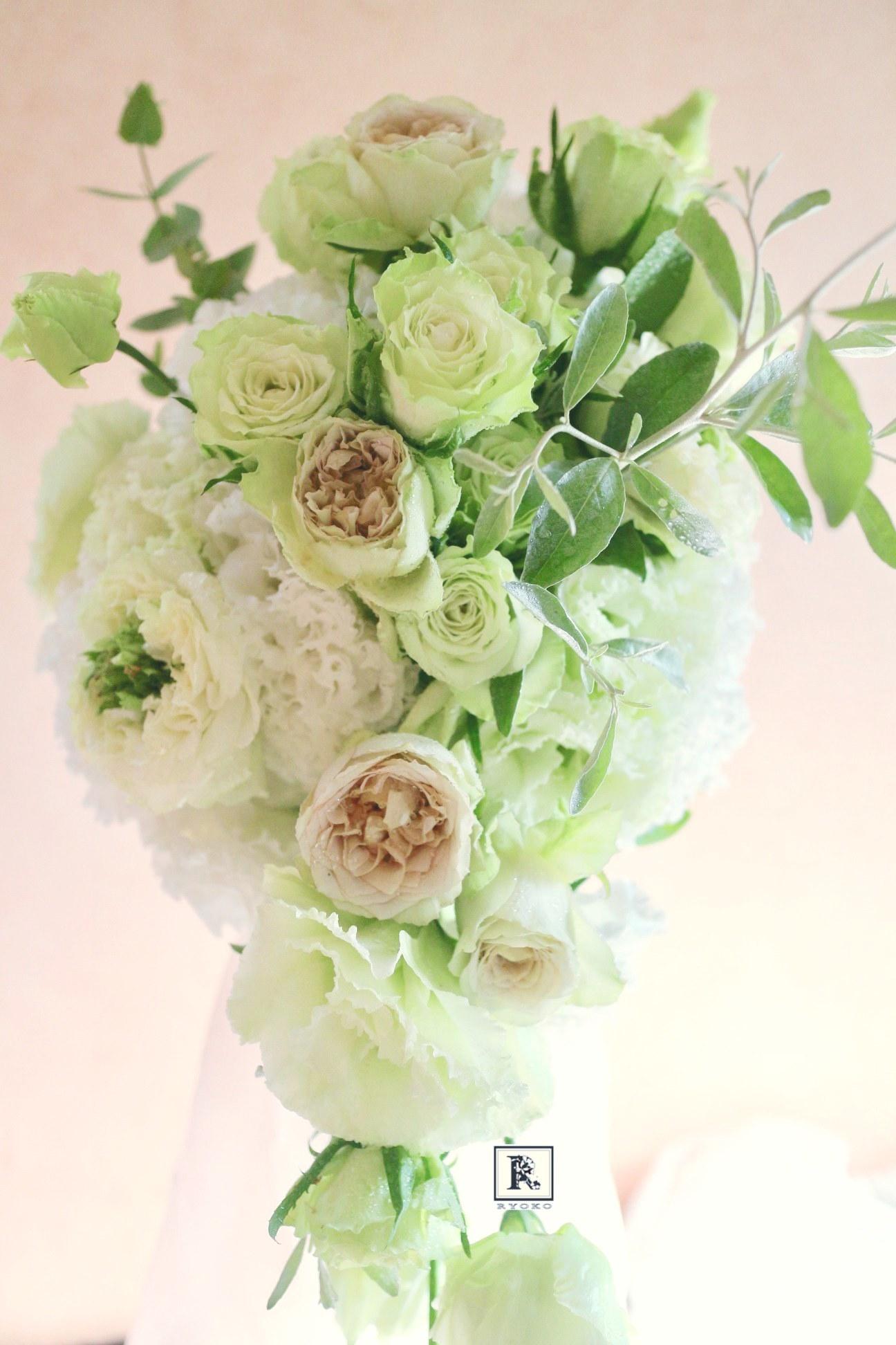 Wedding Bouquet & Flowers 2019.9.T様 _c0128489_14532879.jpg